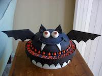 pastel murcielago halloween