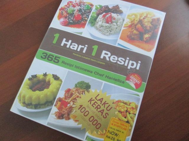 chef hanieliza,365 resepi istimewa