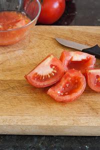 Čišćenje rajčice od sjemenki