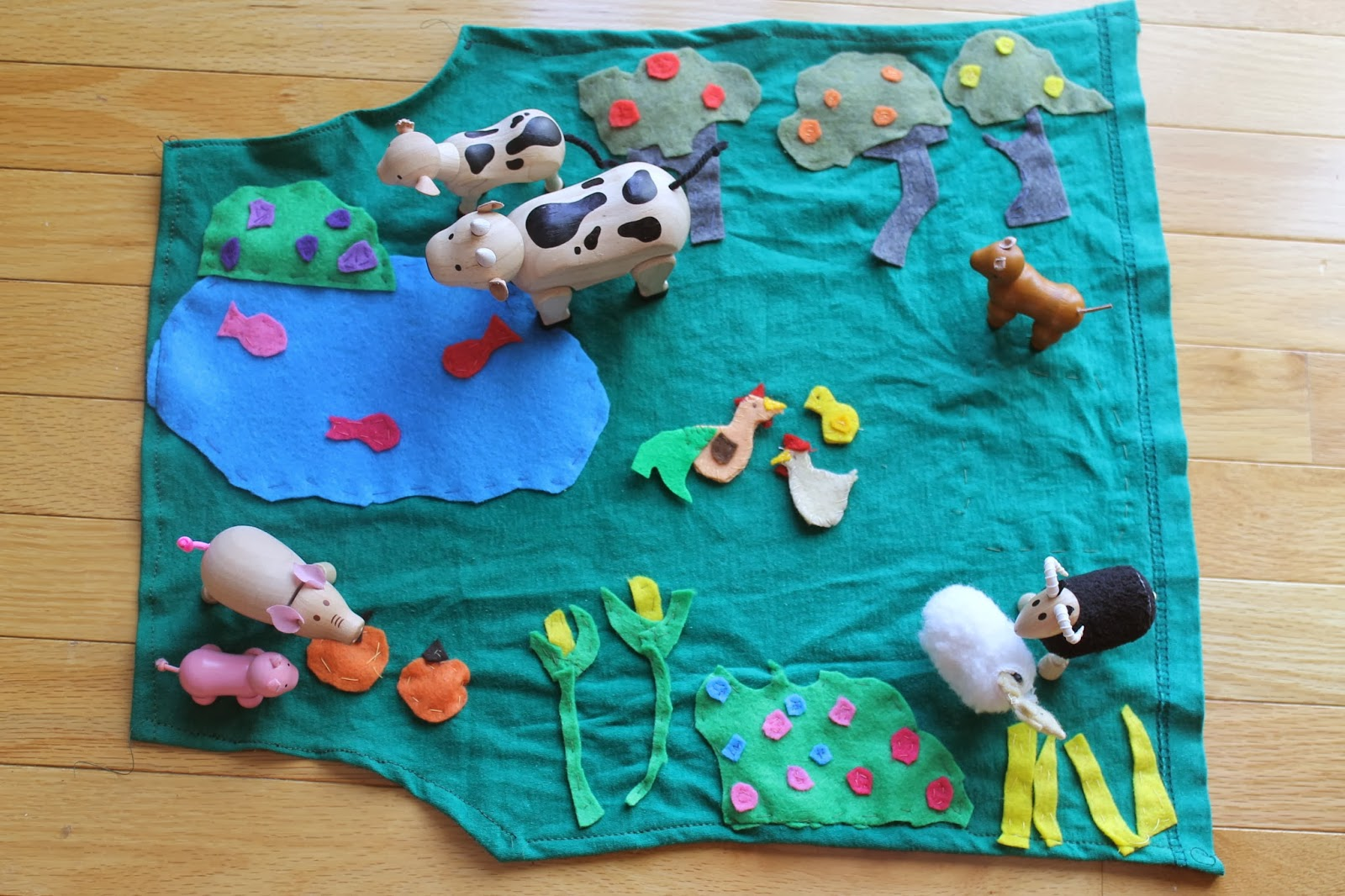 Wading Through Soup Diy Play Mat Outer Space