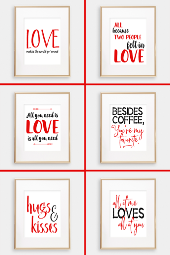 Valentines Printables for Purchase:
