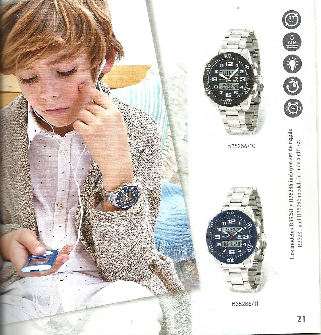 Relojes Comunión con Mp4 de regalo