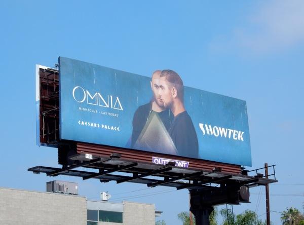 Showtek Omnia nightclub billboard