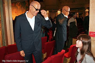Bruce Willis в музее восковых фигур