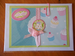 Cupcake Theme Card