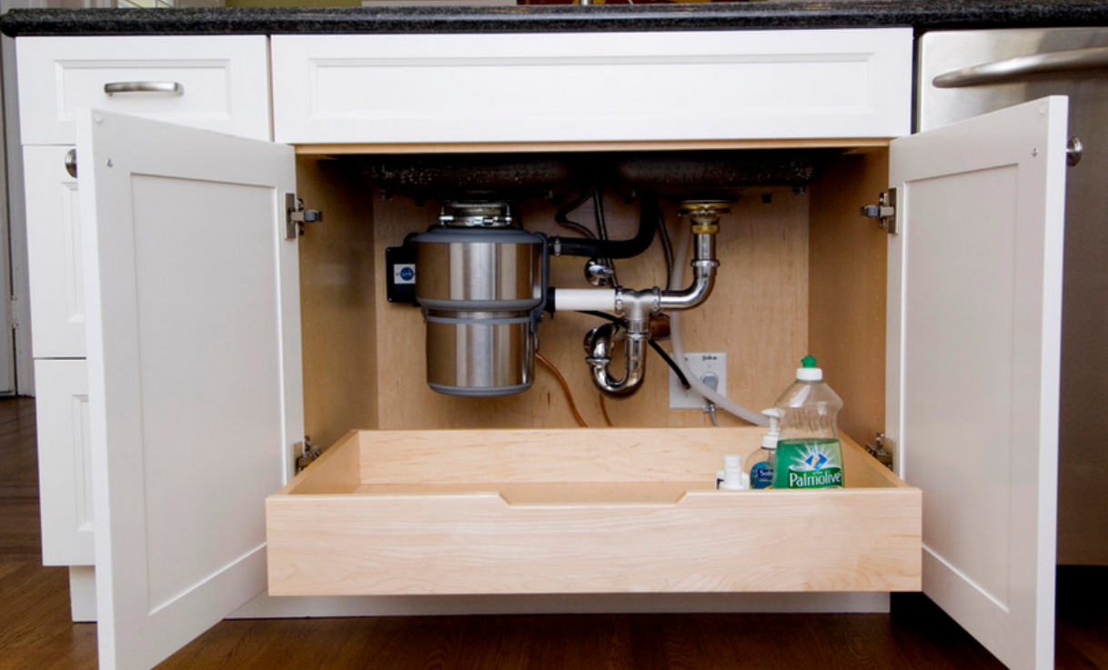 Slide Out Kitchen Cabinet