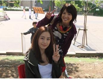 Foto Kim Tae-hee dilokasi syuting - Artis Korea Selatan