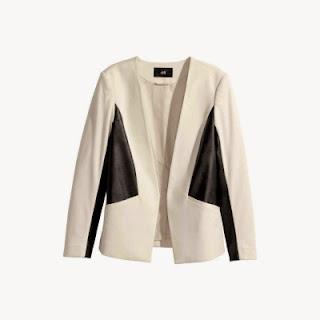 Le blazer bicolore