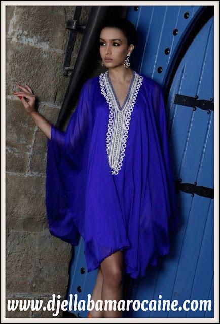Gandoura Bleu 2013