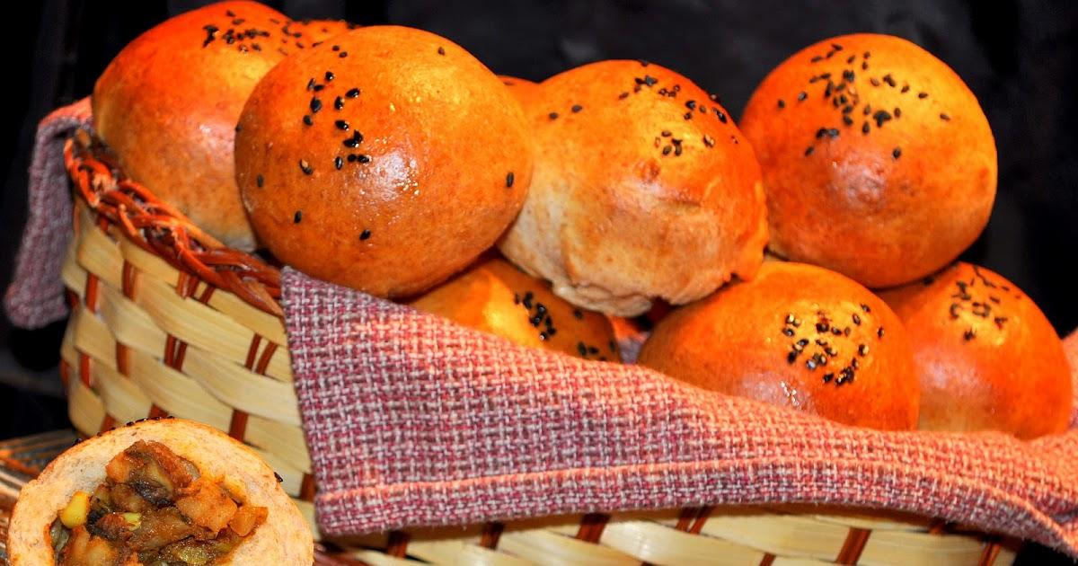 Life Scoops: Mushroom and Potato Stuffed Whole Wheat Buns