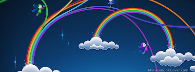 Rainbow FB profile cover