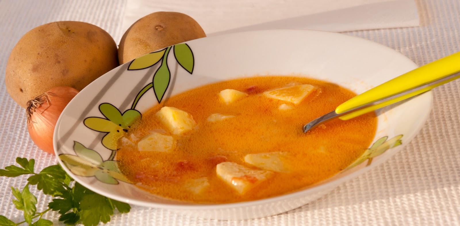 Картофена супа със застройка