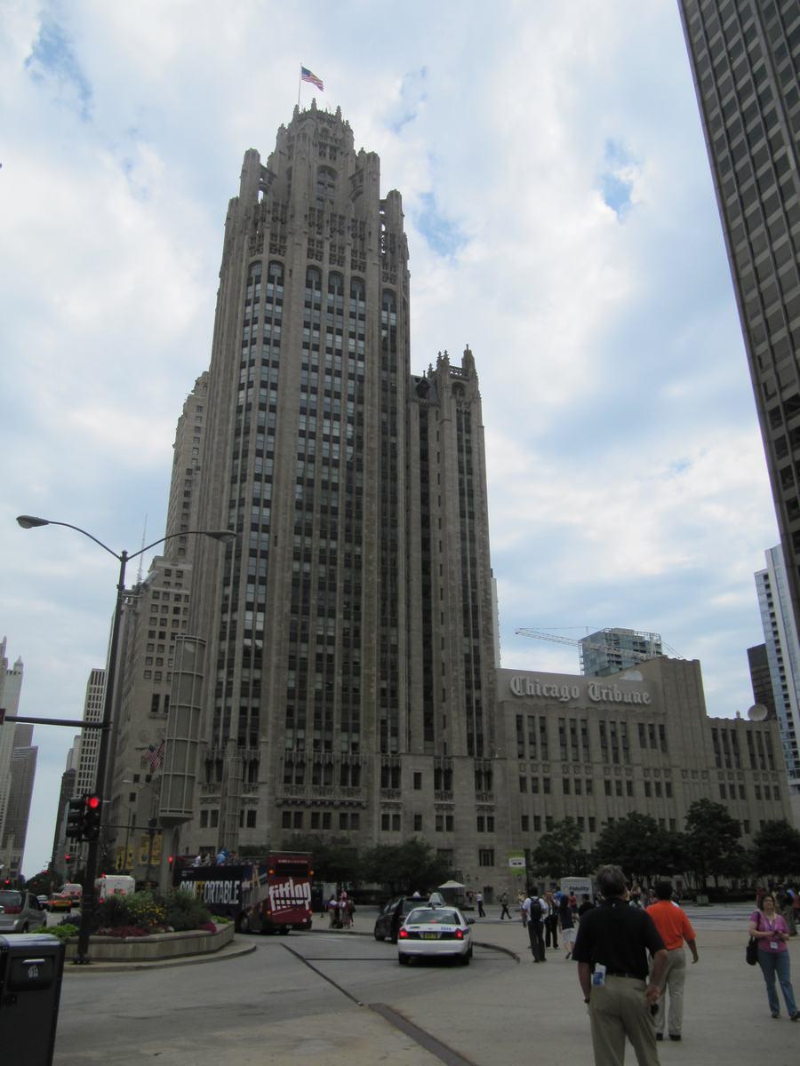 Chicago Tribune, tribune tower chicago
