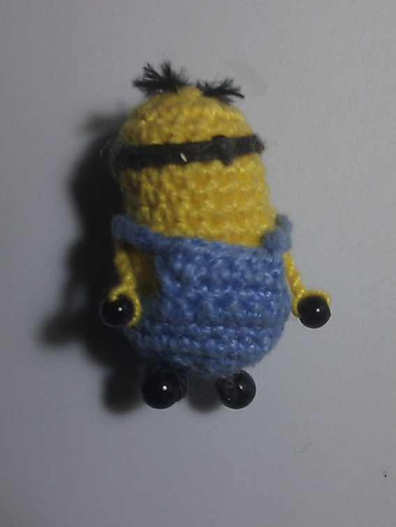 Mathematical Coffee Tiny Crochet Despicable Me Minion