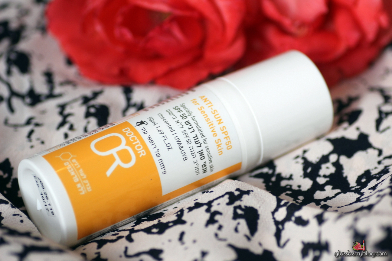 "Dr. Or Anti Sun SPF 50 / ד""ר עור אנטי סאן לעור רגיש SPF 50"