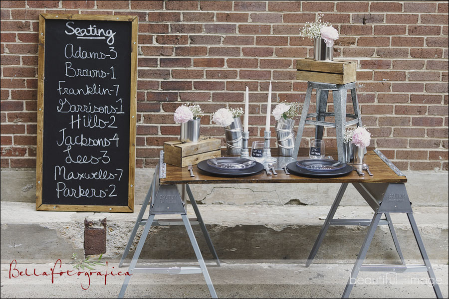decoration mariage urbain