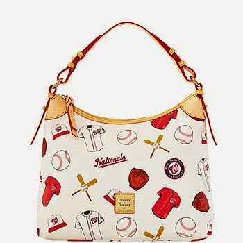 Washington Nationals MLB Dooney & Bourke Hobo Purse