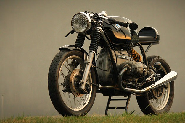 vintage racers bmw r75 6 cafe racer via bike exif. Black Bedroom Furniture Sets. Home Design Ideas