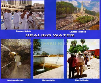 Air kangen healing water