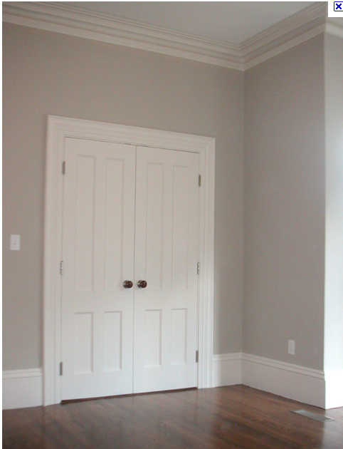 really like Benjamin Moore Revere Pewter for the walls: