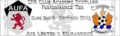 aufa+banner+v+killie Ayr v Kilmarnock: SFA Performance Tier enthralls watching fans