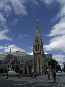 Catedral Anglicana en Christchur Nueva Zelanda