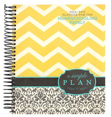 A Simple Plan Homeschool Planner
