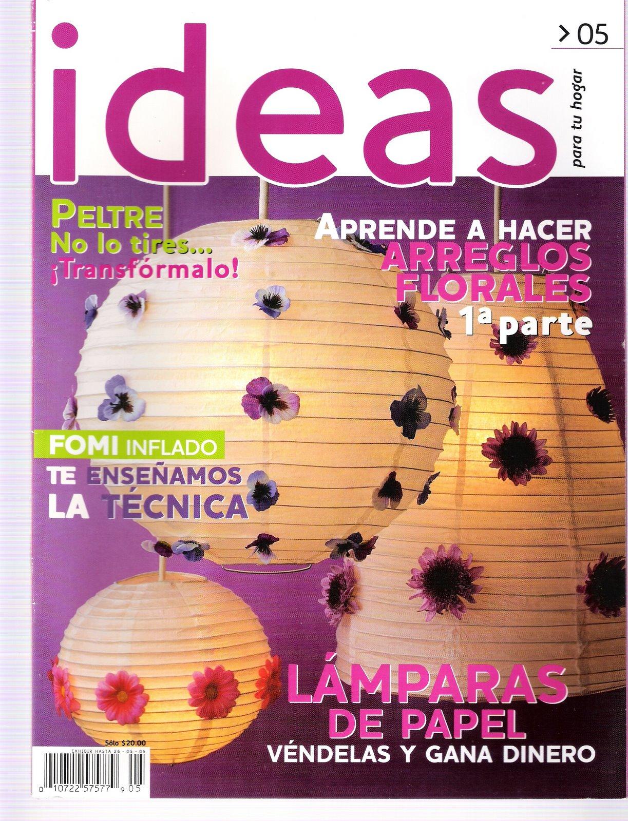 TODAS LAS REVISTAS DE MANUALIDADES GRATIS: Ideas nº 05 - revista ...