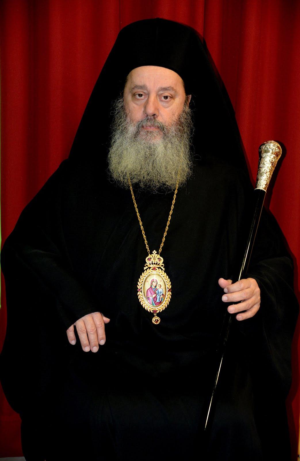 Επίσκοπος Κερνίτσης κ.κ. ΧΡΥΣΑΝΘΟΣ