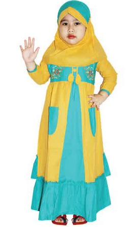Baju Muslim Anak Perempuan