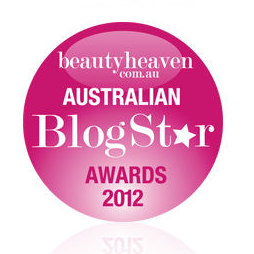 Winner - Australian BlogStar Awards 2012