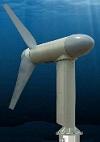 Turbina aprovechamiento corriente de las mareas o energía mareomotriz.