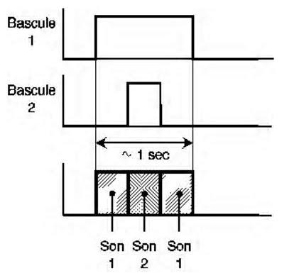Avertisseur deux tons embarqu for Bascule transistor