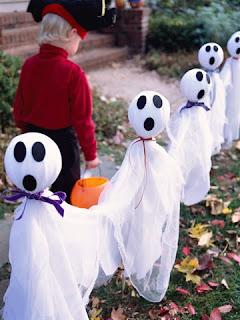 Fantasmas para o halloween