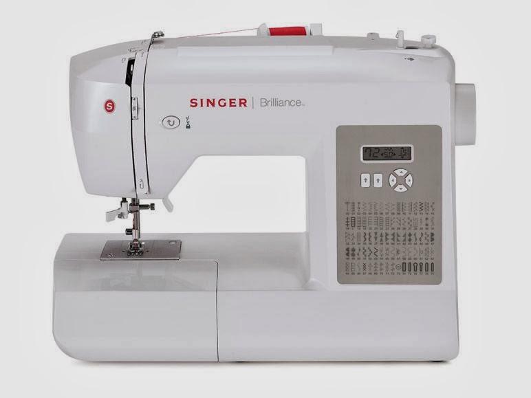 Anilegra moda para muñecas: Máquina de coser SINGER brillance y ...