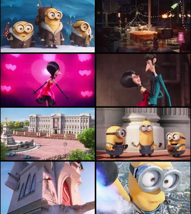 Minions 2015 Dual Audio Hindi BRRip 480p