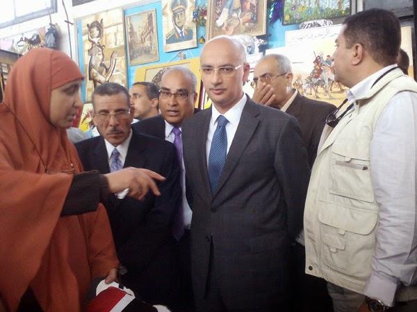 ادارة بركة السبع التعليمية, دكتور محمد يوسف, وزير التعليم الفنى ,ختام الأنشطة المدرسية بمركز بركة السبع
