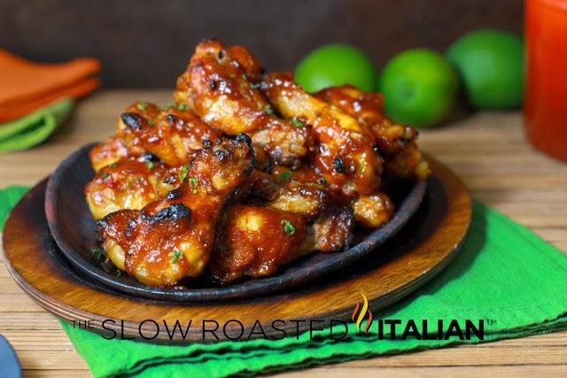 ... Slow Roasted Italian - Printable Recipes: Sriracha Honey Chicken Wings