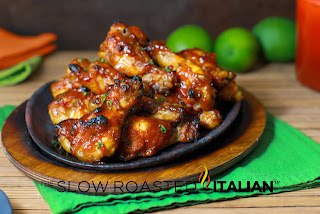... Slow Roasted Italian - Printable Recipes: Sriracha Honey Chicken Wings