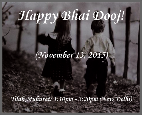 Bhai Dooj is the festival to cherish the beautiful bond of brother and sister.
