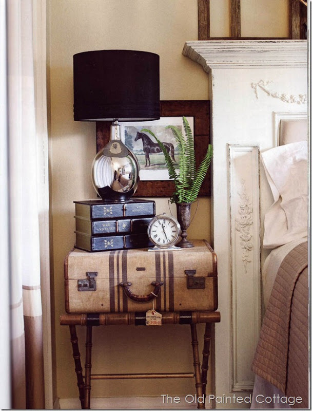 The Old Painted Cottage. Unique Bedroom Nightstand Ideas   Driven by Decor
