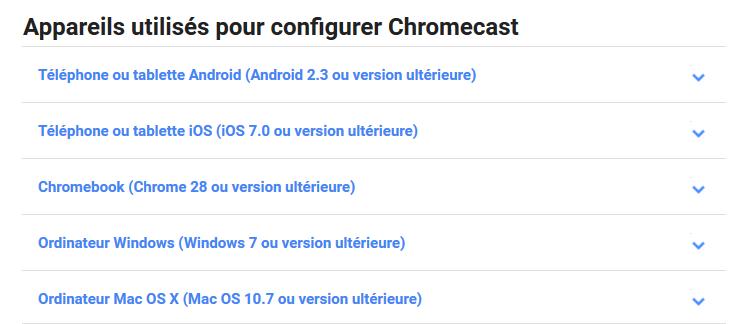 Chromecast Google Cast Le Blog Configurer