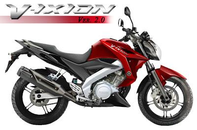 Yamaha All New Vixion 2013 Merah