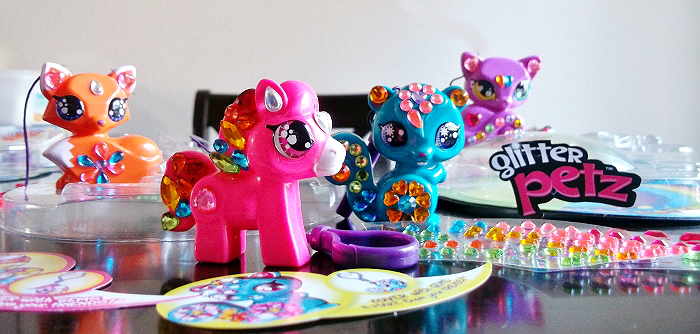 Glitter PEtz kits for kids
