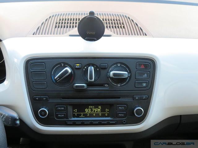 Volkswagen Up!: sistema multimídia
