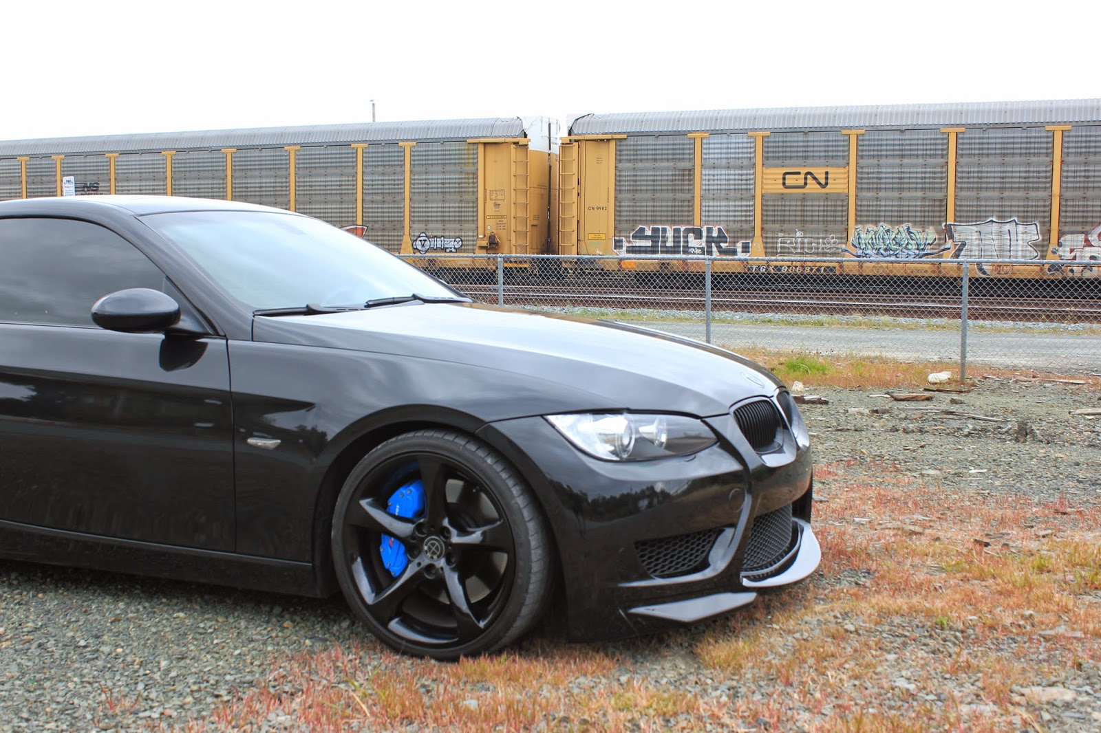 Blue Bmw Brake Calipers