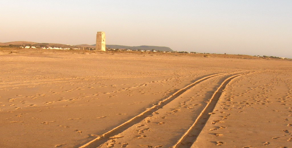 Playa nudista Castilnovo (Conil, Cádiz, Andalucía)