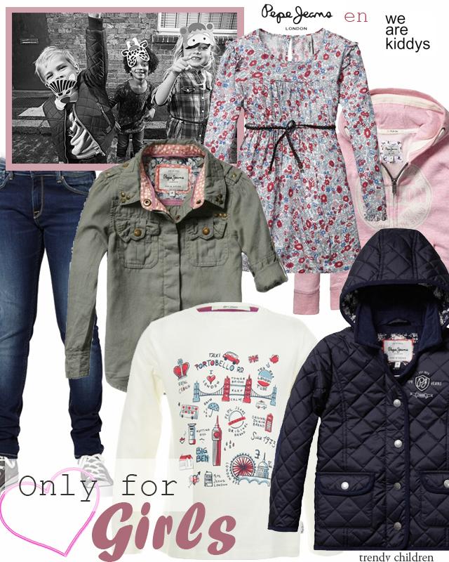 Pepe Jeans niña otoño invierno 2014 2015 wearekiddys Trendy Children