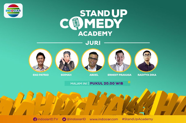 Juri Stand Up Comedy Academy Indosiar