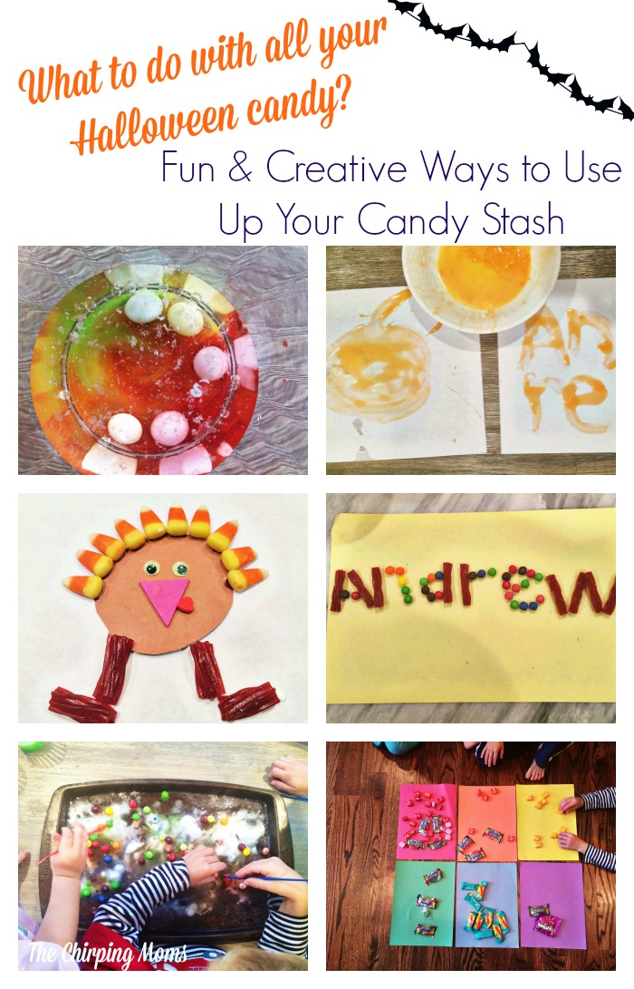What to Do With All That Halloween Candy? - The Chirping Moms